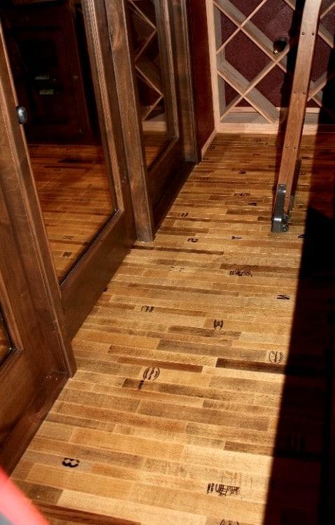 Cooperage-Wine Cellar Flooring by San Diego Builders