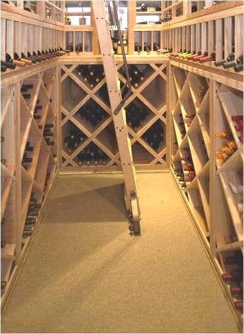 Cork Wine Cellar Flooring