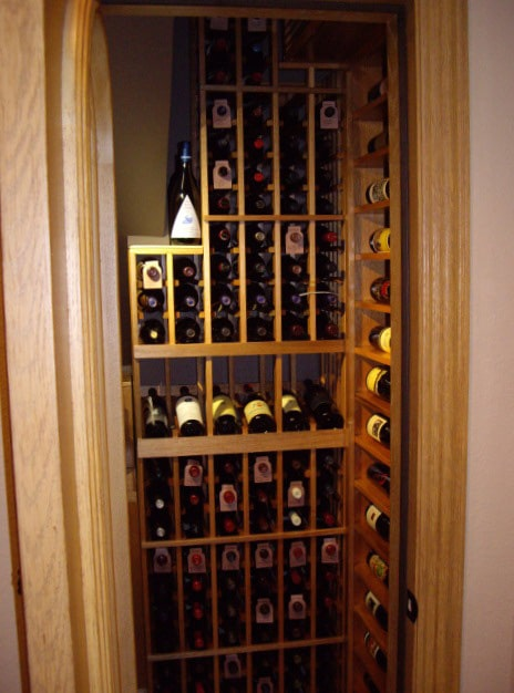 Custom Wine Cellar Racks San Diego