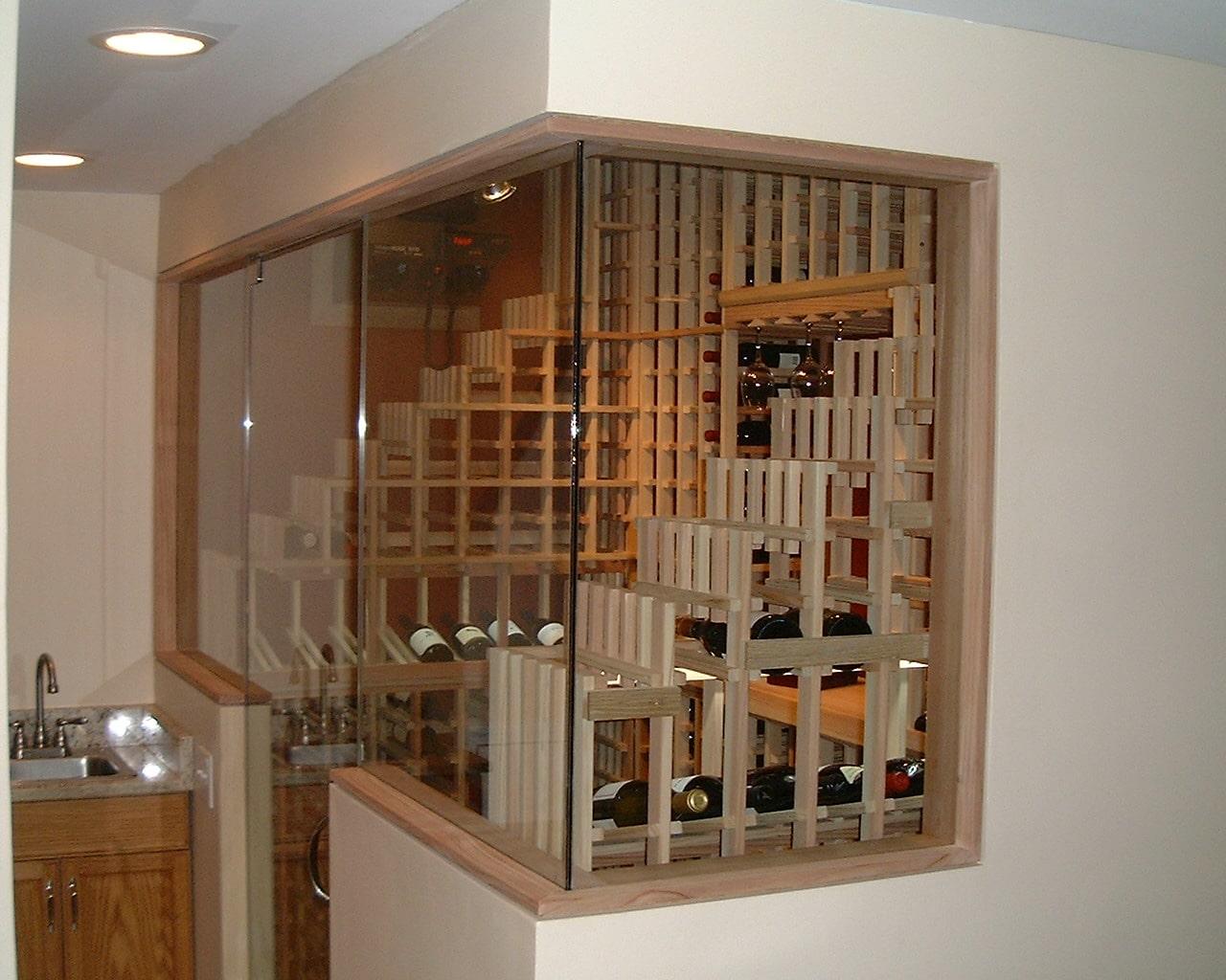 Insulated Wine Room Door