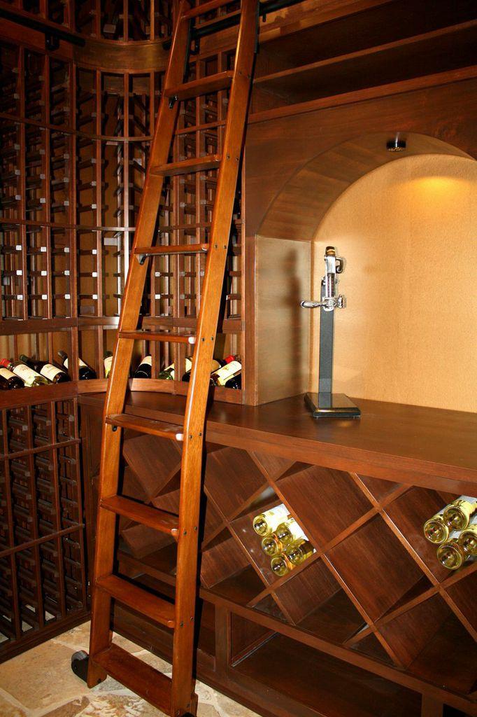 Mahogany Wine Racks San Diego Wine Cellar Design