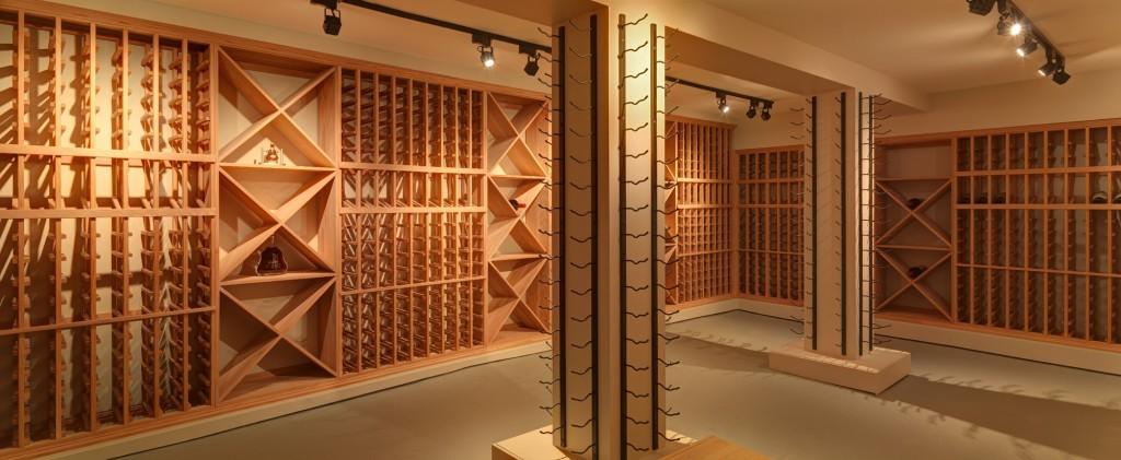 Track Wine Cellar Lighting California