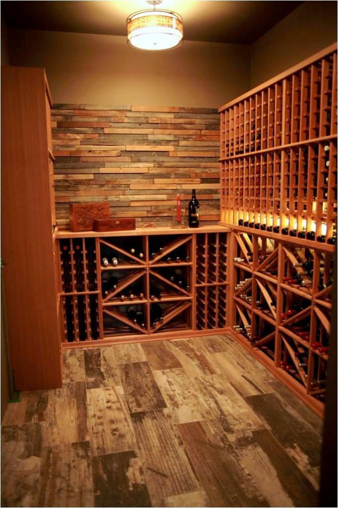 Wine Cellar Lighting by San Diego Builders