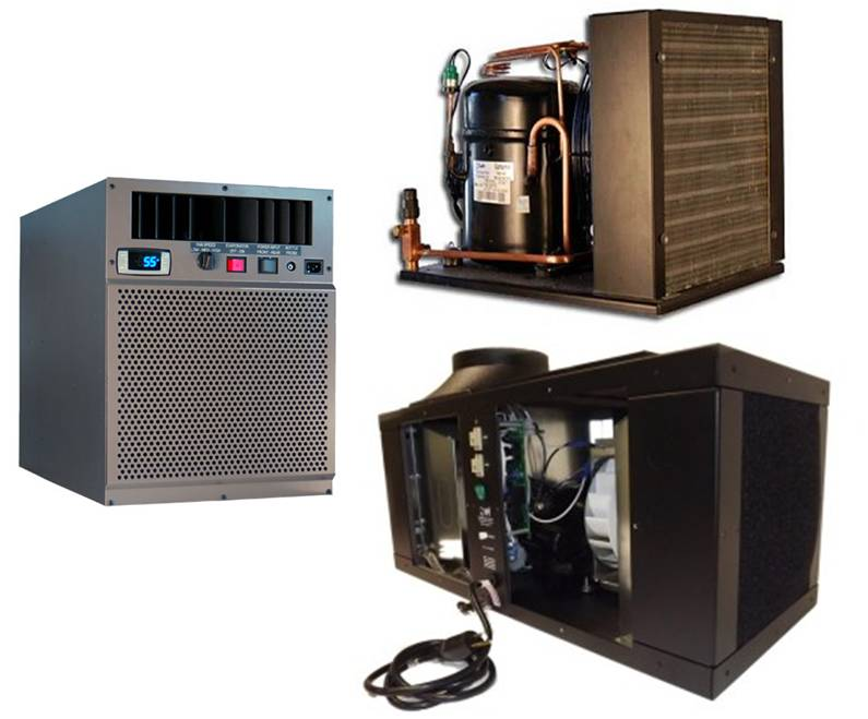 Commercial Grade Wine Cooling Systems