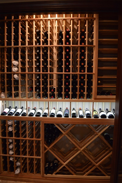 Wines Stored in a Cellar Equipped with an Efficient Cooling System