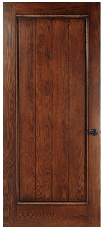 Wooden Wine Cellar Door