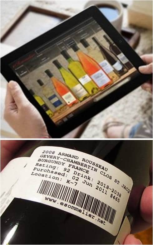 Esommelier Wine Cellar Management System